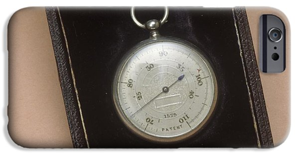 Nineteenth iPhone Cases - Skin Thermometer, Circa 1890 iPhone Case by Science Photo Library