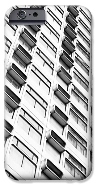 Concrete Jungle iPhone Cases - Skyscraper iPhone Case by Tom Gowanlock