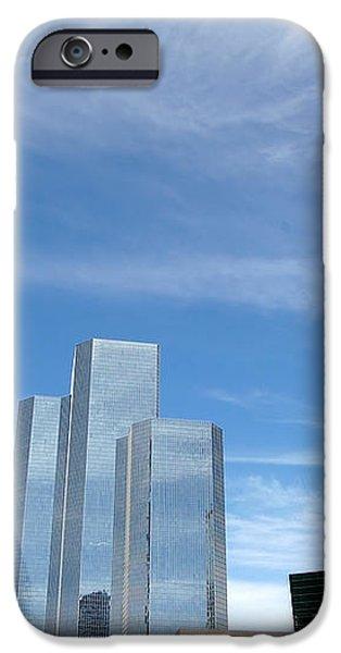 Skyscrapers iPhone Case by Michal Bednarek