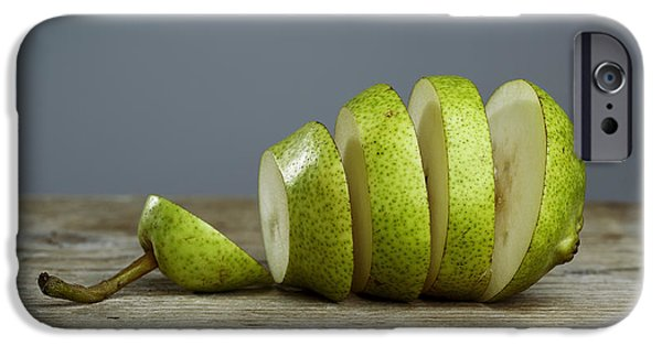 Slice iPhone Cases - Sliced iPhone Case by Nailia Schwarz