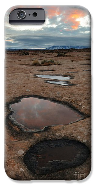 Slickrock iPhone Cases - Slickrock In Arches National Park iPhone Case by John Shaw