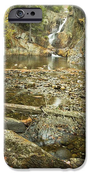 Maine iPhone Cases - Smalls Falls In Autumn Western Maine iPhone Case by Keith Webber Jr