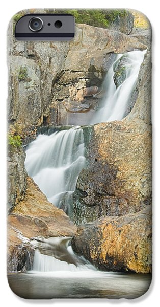 Franklin iPhone Cases - Smalls Falls In Western Maine iPhone Case by Keith Webber Jr