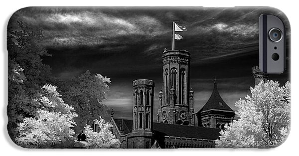 Recently Sold -  - Smithsonian iPhone Cases - Smithsonian Castle iPhone Case by Mike Kurec
