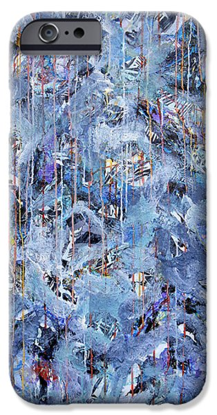 Snowy Day Mixed Media iPhone Cases - Snow Day iPhone Case by Dominic Piperata