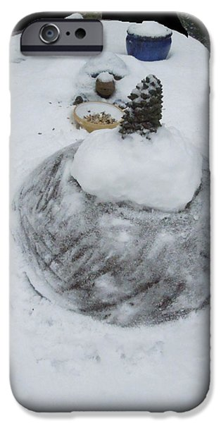 Snow Fall Serie December 2012  iPhone Case by Colette V Hera  Guggenheim