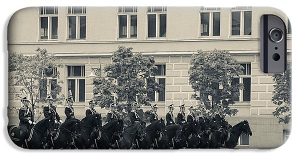 Regiment iPhone Cases - Soldiers Of The Presidential Regimental iPhone Case by Panoramic Images