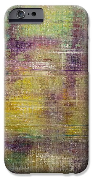 Recently Sold -  - Abstract Expressionist iPhone Cases - Someday iPhone Case by Derek Kaplan