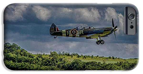Cambridge iPhone Cases - Spitfire iPhone Case by Martin Newman
