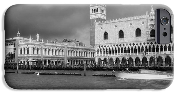Beauty Mark iPhone Cases - St Marks Square - Venice iPhone Case by Mountain Dreams