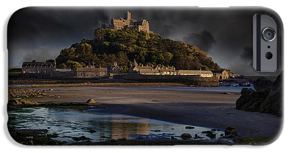 Michael iPhone Cases - St Michaels Mount Cornwall iPhone Case by Martin Newman