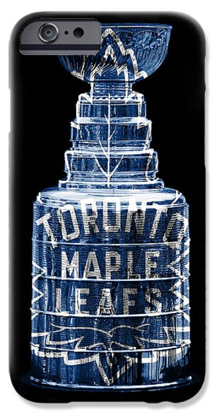 Toronto Maple Leafs iPhone Cases - Stanley Cup 2 iPhone Case by Andrew Fare
