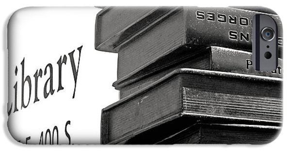 Revolution iPhone Cases - Steal this Book iPhone Case by Rona Black
