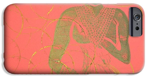 Original Reliefs iPhone Cases - Stealth  iPhone Case by Tarynn Jackson
