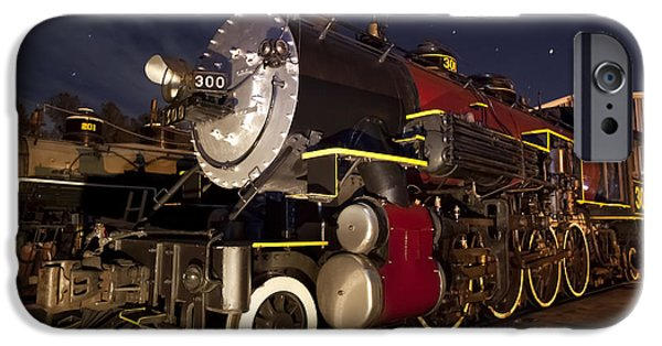 Steam Locomotive iPhone Cases - Steam Locomotive iPhone Case by Keith Kapple