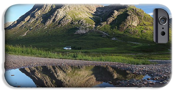 Scenic Print Photographs iPhone Cases - Stob Dearg iPhone Case by Grant Glendinning