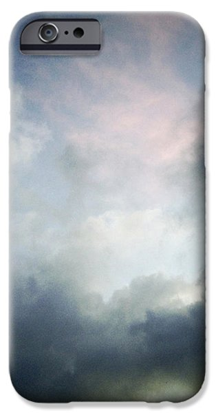 Storm clouds iPhone Case by Les Cunliffe