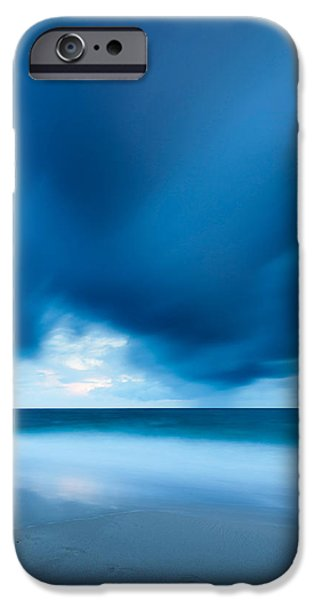 Storm iPhone Cases - Storm Over The Sea, Sylt iPhone Case by Panoramic Images