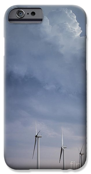 Stormy Skies iPhone Case by Jim McCain