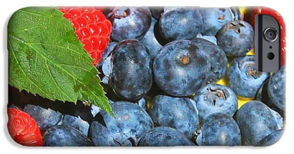 Berry iPhone Cases - Summer  iPhone Case by Kris Hiemstra