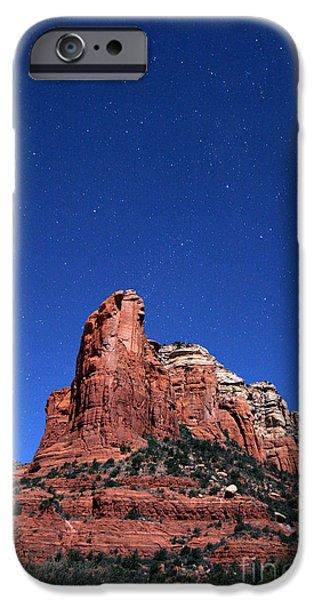 Sedona iPhone Cases - Summer Triangle iPhone Case by Babak Tafreshi
