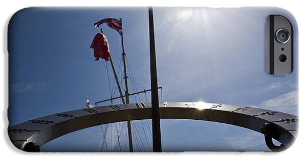 Recently Sold -  - Sailing iPhone Cases - Sundial iPhone Case by David Pyatt