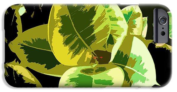 Alga Paintings iPhone Cases - Sunlight iPhone Case by Julio R Lopez Jr