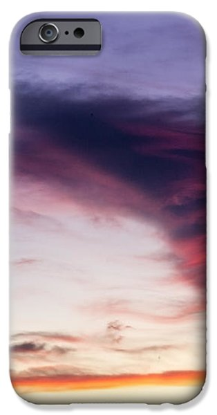 Sunset and clouds red sensations. iPhone Case by Stefano Piccini