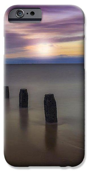 Sunset Beach iPhone Case by Ian Mitchell