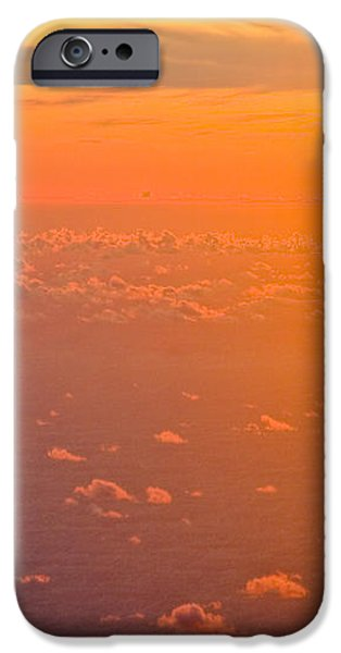 Sunset in the sky iPhone Case by Raimond Klavins