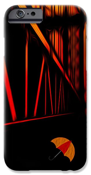 Concept Digital iPhone Cases - Sunset iPhone Case by Jack Zulli