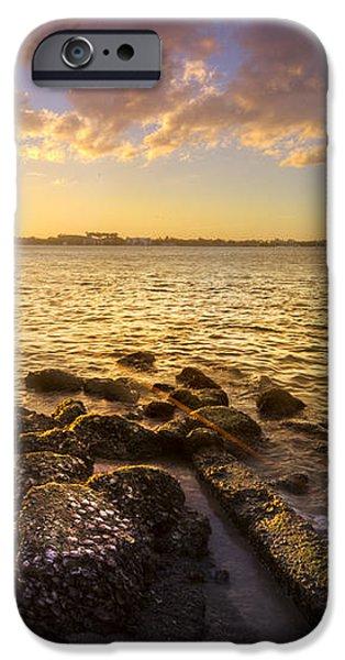 Sunset Light iPhone Case by Debra and Dave Vanderlaan