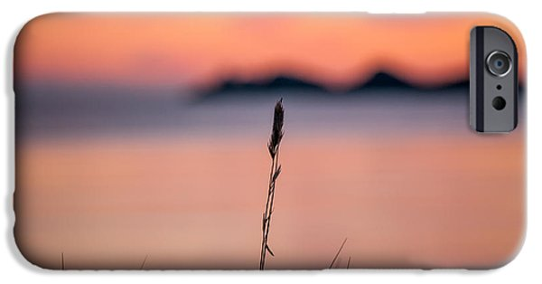 Mandal iPhone Cases - Sunset iPhone Case by Mirra Photography