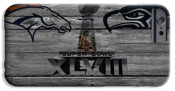 New York Mets Stadium iPhone Cases - Super Bowl Xlviii iPhone Case by Joe Hamilton
