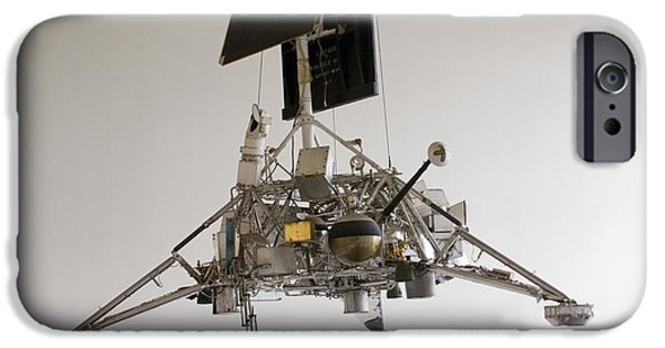 Smithsonian iPhone Cases - Surveyor Lunar Lander Test Model iPhone Case by Mark Williamson