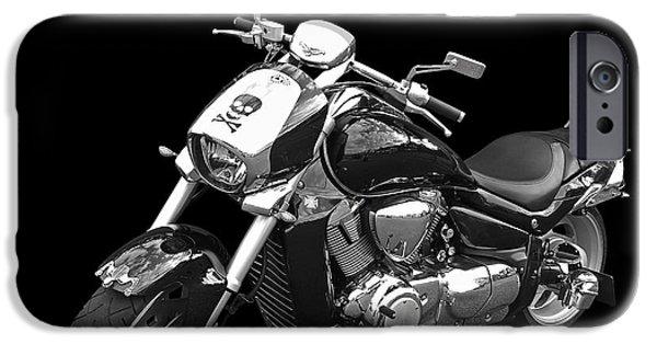 Suzuki iPhone Cases - Suzuki Intruder M1800r iPhone Case by Gill Billington