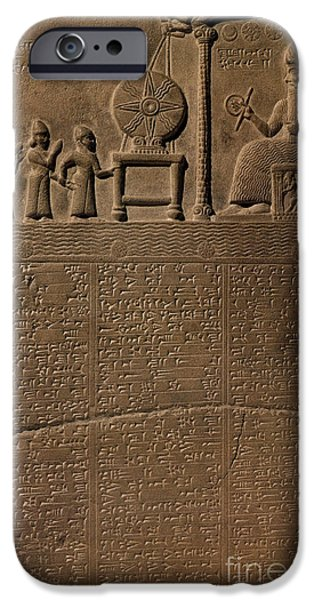 Babylon iPhone Cases - Tablet Of Shamash, 9th Century Bc iPhone Case by Science Source