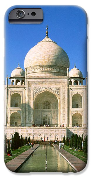 The Dome iPhone Cases - Taj Mahal iPhone Case by Unknown