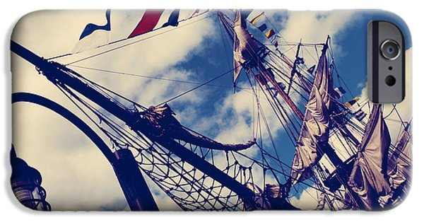 Tall Ship iPhone Cases - Tall Ships iPhone Case by Jerry Cordeiro