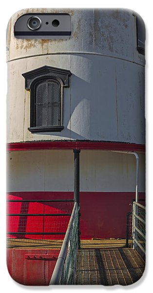 Empire State iPhone Cases - Tarrytown Lighthouse iPhone Case by Susan Candelario