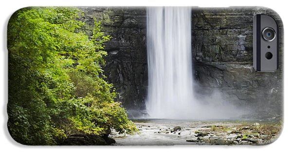 Ithaca iPhone Cases - Taughannock Falls State Park iPhone Case by Christina Rollo
