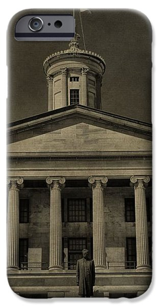 Tennessee Capitol Building iPhone Case by Dan Sproul