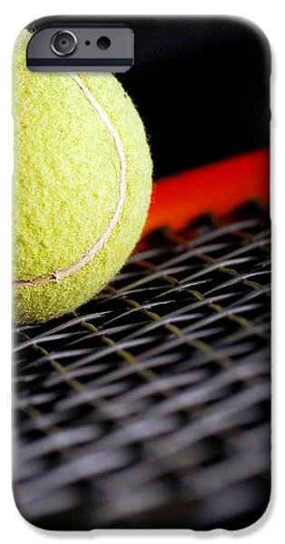 Tennis equipment iPhone Case by Michal Bednarek