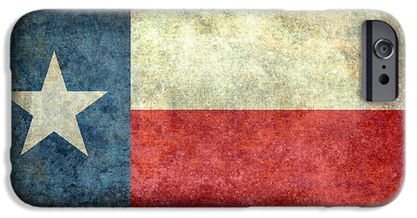 Recently Sold -  - Nation iPhone Cases - Texas the lone star state iPhone Case by Bruce Stanfield