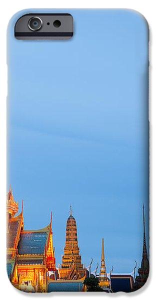 Thai construction design. iPhone Case by Vachiraphan Phangphan