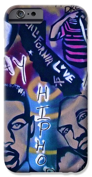 First Amendment Paintings iPhone Cases - The BAY AREA iPhone Case by Tony B Conscious