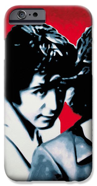 The Beatles iPhone Case by Luis Ludzska