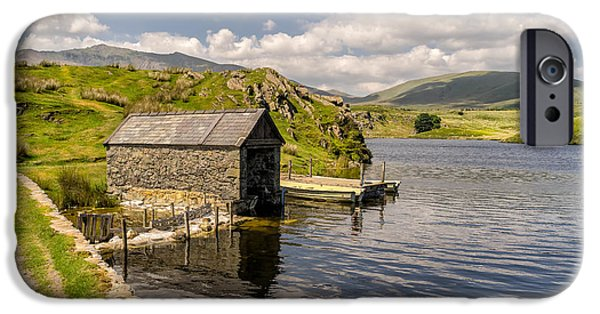 Boat House iPhone Cases - The Boathouse iPhone Case by Adrian Evans