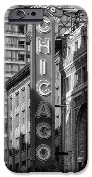 Recently Sold -  - Sears Tower iPhone Cases - The Chicago Theatre iPhone Case by Mountain Dreams