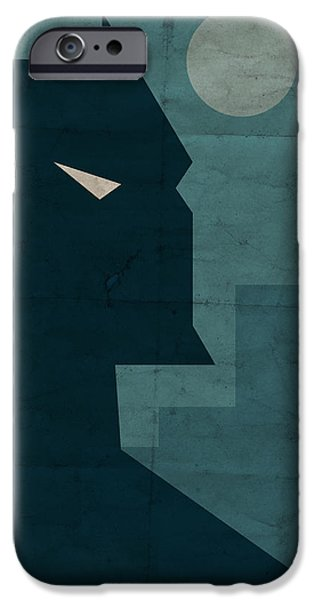 Comics iPhone Cases - The Dark Knight iPhone Case by Michael Myers